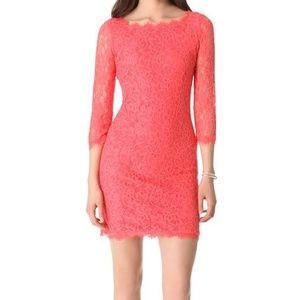 NWT Diane Von Furstenberg DVF Zarita Lace Dress